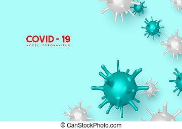 Coronavirus, Covid-19 dangerous virus.