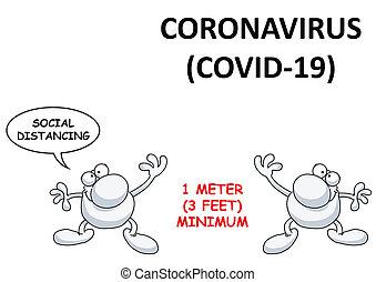 coronavirus, estados unidos de américa, 19, distancing, covid, social