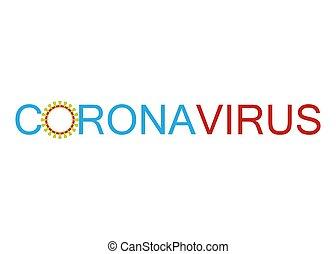 Coronavirus icon, 2019-nCov novel coronavirus concept ...