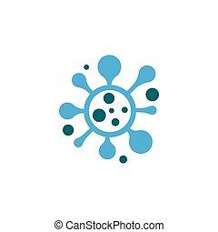 Coronavirus logo template