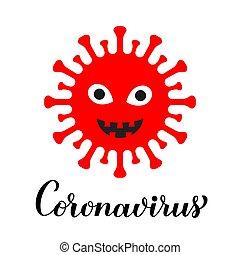 coronavirus, pathogen, aviador, blanco, china., covid-19, ...