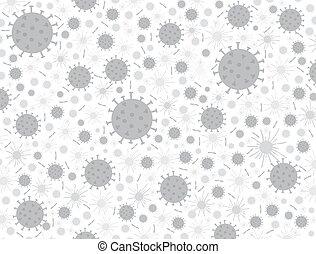 coronavirus, porcellana