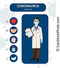 Coronavirus prevention, 2019-NCOV, COVID-19.