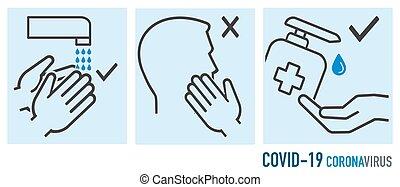 coronavirus, protección, prevención, durante, covid-19