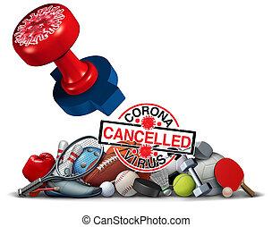 Coronavirus Sports Cancelled