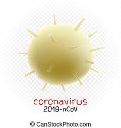 coronavirus vector illustration