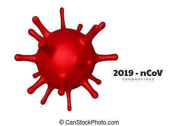 Coronavirus, virus strain of MERS-Cov.