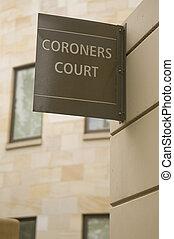 coroners, corte