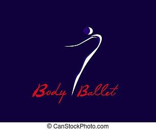 corpo, balletto, icona