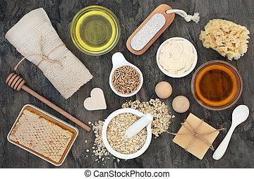 corpo, pelle, ingredienti, cura