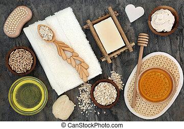 corpo, pelle, naturale, cura, ingredienti