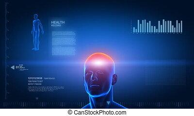 corpo umano, scansione