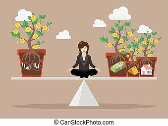 corporación mercantil de mujer, allocation, rebalancing, ventaja, cartera