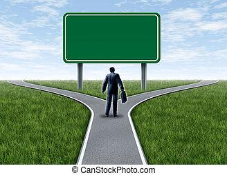 corporación mercantil la decisión, con, muestra en blanco