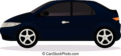 corporal, car, tipo, hatchback