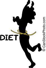 corporal, dieta