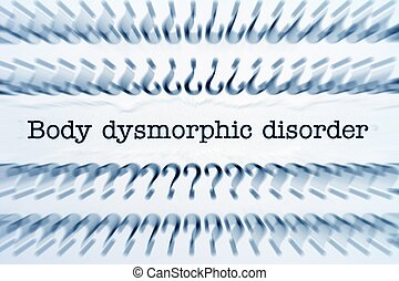 corporal, dysmorphic, desordem