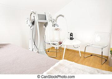 corporal, equipamento, clínica, formar, avançado