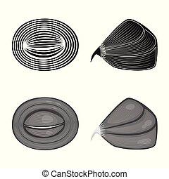 corporal, fibra, sinal., web., muscular, jogo, vetorial, ilustração, símbolo, estoque