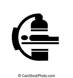 corporal, médico, vetorial, símbolo, varredura