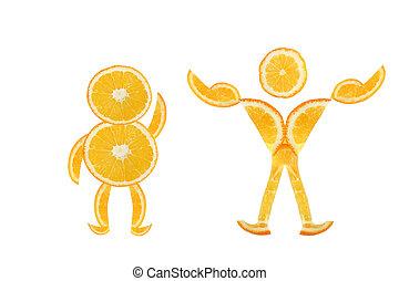 corporal, mus, -, gorda, transformation., transformação