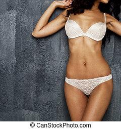 corporal, roupa íntima sensual, parte