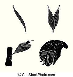 corporal, vetorial, stock., ícone, jogo, logo., celas, human, desenho