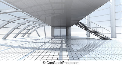Corporate Architecture		 - 3D rendered Illustration.