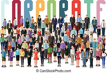 corporate business concept