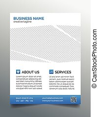 Corporate business flyer template - Creative business flyer...