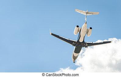 corporate business jet