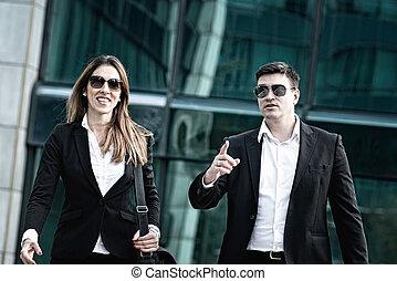 Corporate business people
