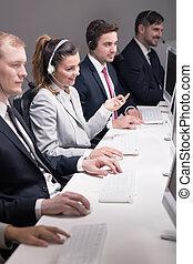 Corporate call centre