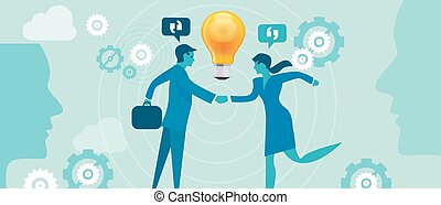 corporate company innovation collaboration people merger...