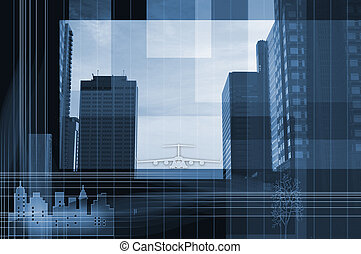 Corporate design. - Abstract background.