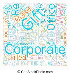 Corporate Gift Baskets The Perfect Touch For The Company...