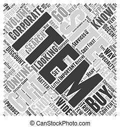 corporate gift online Word Cloud Concept
