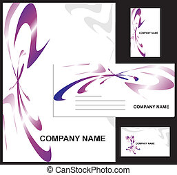 Corporate identity design template vector illustration...