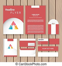 Corporate Identity new blend crop blend - Creative red...