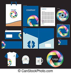 Corporate identity Pack  with Logo