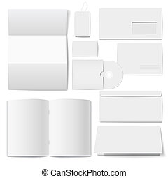 Corporate  identity Templates  Selected blank