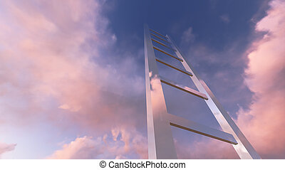 Corporate Ladder - Ladders showing the pathway to the top