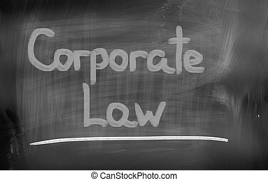 Corporate Law Concept