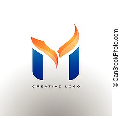 Corporate Letter M Logo Vector - Letter M Logo. Corporate M...