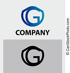 Corporate Logo G Letter company