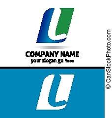 Corporate Logo L Letter company