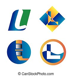 Corporate Logo L Letter company