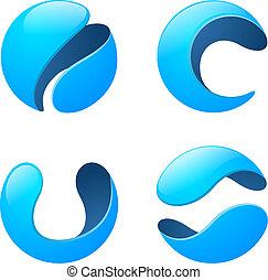 Corporate, Media, Technology, Telecommunication Logo