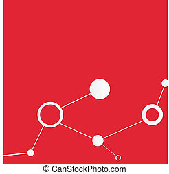 Corporate red background