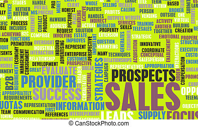 Sales - Corporate Sales and Marketing in a Company